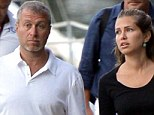 Luxury lifestyle: Billionaire Chelsea owner Roman Abramovich, 47, with girlfriend Dasha Zhukova, 33