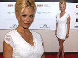 Pamela Anderson channels Brigitte Bardot during 9/11 charity...as she reveals marriage to Rick Salomon is uncertain