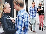 11 Sep 2014  - LONDON   - UK\n*** EXCLUSIVE ALL ROUND PICTURES ***\nFORMER MADE IN CHELSEA STAR KIMBERLY GARNER PICTURED ON THE KINGS ROAD WITH HER NEW BOYFRIEND \nBYLINE MUST READ : XPOSUREPHOTOS.COM\n***UK CLIENTS - PICTURES CONTAINING CHILDREN PLEASE PIXELATE FACE PRIOR TO PUBLICATION ***\n**UK CLIENTS MUST CALL PRIOR TO TV OR ONLINE USAGE PLEASE TELEPHONE  442083442007