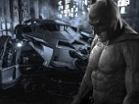'Here's a real picture of the Batmobile': Batman V Superman director Zack Snyder shares image of Ben Affleck's new wheels... after wrong car is named