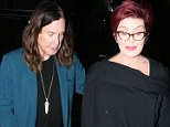 In the mood for Rat Salad? Ozzy Osbourne and wife Sharon head out for romantic dinner in Los Angeles