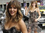 2751624 Making waves! Jolly Katharine McPhee mingles with fans as she arrives for appearance on The Late Show