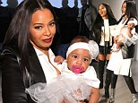 Couture just got cuter! Rap legend Rev Run's daughter Vanessa Simmons introduces baby daughter at sister Angela's fashion show