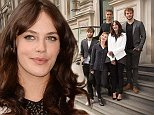 From left to right, British actors Douglas Booth, Holliday Grainger, Max Irons, Jessica Brown Findlay, and Sam Claflin pose for photographs on the steps of the Corinthia Hotel for The Riot Club photo call, in central London, England, Wednesday, Sept. 10 2014. (Photo by Joel Ryan/Invision/AP)