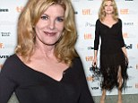 Rene Russo, 60, looks like a tall drink of water at Nightcrawler premiere in Toronto... as she describes working with husband of 22 years