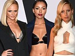 Skin is in: Miranda Lambert, Kat Graham and  Karolina Kurkova showed off their ample cleavage on the red carpet