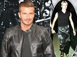 David Beckham attends the 'Belstaff: Off Road/David Beckham' book signing in New York. September 9, 2014 X17online.com