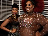 Joining forces: Jennifer Hudson performed with Latrice Royale at Fashion Rocks in New York on Tuesday