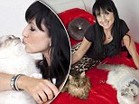 Former glamour model, 40, claims she'll be single forever because no man is as good as her cats