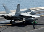 Pentagon officials say two U.S. Navy jets have crashed into the western Pacific Ocean and that one pilot was rescued and a search is on for the other