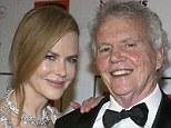 Nicole and dad Antony Kidman
