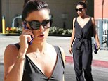 Eva Longoria is elegant in flowy jumpsuit as she heads to the salon for a day of pampering