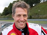 """Video: https://vimeo.com/105853750  Mandatory Credit: Photo by IBL/REX (4103402c)  Hugh Grant  Hugh Grant practices for the Swedish GT Charity Race at Ring Knutstorp, Sweden - 10 Sep 2014  Hugh Grant is seen preparing for a charity race in aid of the Childhood Cancer Foundation in Sweden. The actor has links to the country thanks to his brief romance with Swedish television producer Anna Eberstein, 35, which resulted in their son. Although the relationship is over she and Hugh are still close. He comments: """"We are very close friends. She is an amazing mom"""". Anna and Hugh's almost 2-year-old son live not far from his home in London. Hugh says: """"I see him often. Almost every day. I love him very much"""". Fatherhood has meant several trips to Sweden and the perfect occasion for Hugh to air his many luxury cars. On one drive from London he happened to get a flat tire and was helped out by Swedish racing driver Martin Nelson. It was Nelson who talked him into taking part in this weekend's ch"""