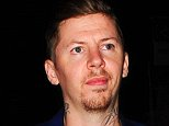 Picture Shows: Professor Green  September 11, 2014    Professor Green was spotted leaving Groucho Club after a night out with some friends in London, UK. The music producer was looking stylish in a navy blue suit with white top and black leather oxford shoes.    Non Exclusive  WORLDWIDE RIGHTS    Pictures by : FameFlynet UK © 2014  Tel : +44 (0)20 3551 5049  Email : info@fameflynet.uk.com