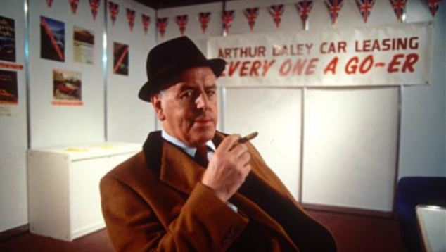 Behind the screen: George, 88, played wheeler-dealer Arthur Daley for 15 years in the 1980s