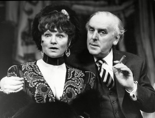 Here with Penny in costume for Mrs Cole's Music Hall in 1986