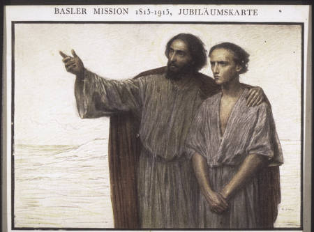 Basel Mission 1815-1915. Centenary card.