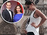 'We're happy to share this wonderful news': Dallas star Leonor Varela, 41, announces she's pregnant with her second child by posting bump shot