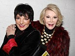 'I broke my lower back': Liza Minnelli suffers injury she claims came from picking up her dogs... which prevented her from attending Joan Rivers' funeral