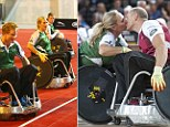 Harry plays wheelchair rugby