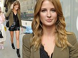 12.SEPT.2014\nMILLIE MACKINTOSH AT SOMERSET HOUSE FOR THE AMANDA WAKELEY SHOW DURING LONDON FASHION WEEK!\nBYLINE MUST READ : XPOSUREPHOTOS.COM\n***UK CLIENTS - PICTURES CONTAINING CHILDREN PLEASE PIXELATE FACE PRIOR TO PUBLICATION ***\nUK CLIENTS MUST CALL PRIOR TO TV OR ONLINE USAGE PLEASE TELEPHONE 0208 344 2007**