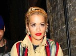 Picture Shows: Rita Ora  September 12, 2014    Rita Ora was spotted arriving at the Chiltern Firehouse in London, UK. Rita was accompanied by her boyfriend Ricky Hil, who is son to fashion designer Tommy Hilfiger.    Non Exclusive  WORLDWIDE RIGHTS    Pictures by : FameFlynet UK © 2014  Tel : +44 (0)20 3551 5049  Email : info@fameflynet.uk.com
