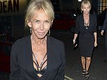 Picture Shows: Trudie Styler  September 11, 2014    Actress Trudie Styler seen leaving the Groucho Club in Soho, London. Trudie looked stylish in a low cut black dress, showing off her leather bra with harness strap detailing.    Non-Exclusive  WORLDWIDE RIGHTS    Pictures by : FameFlynet UK    2014  Tel : +44 (0)20 3551 5049  Email : info@fameflynet.uk.com