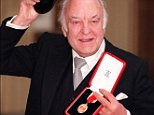 File photo dated 09/12/97 of actor Sir Donald Sinden  at Buckingham Palace after receiving his Knighthood.  Donald Sinden has died at his home aged 90. PRESS ASSOCIATION Photo. Issue date: Friday September 12, 2014. See PA story DEATH Sinden. Photo credit should read: John Stillwell/PA Wire