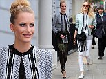 Mandatory Credit: Photo by Beretta/Sims/REX (4103547m)\n Poppy Delevingne\n Poppy Delevingne out and about, London, Britain - 11 Sep 2014\n \n