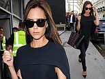 Mandatory Credit: Photo by Beretta/Sims/REX (4103913e)  Victoria beckham leaving her shop in Mayfair  Victoria Beckham Out and About in London, Britain - 12 Sep 2014