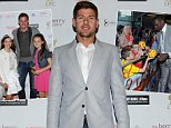 """LIVERPOOL, ENGLAND - SEPTEMBER 10:  (THE SUN OUT & SUN ON SUNDAY OUT) Steven Gerrard of Liverpool FC at the World Premiere of """"One Night In Istanbul"""" at Odeon cinema in Liverpool One on September 10, 2014 in Liverpool, England.  (Photo by John Powell/Liverpool FC via Getty Images)"""