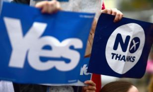 Campaign: Several business leader have come out in favour of a No vote in Thursday's referendum.