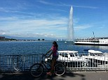 Geneva surprise: The Swiss city had plenty to keep us occupied, including a bicycle tour