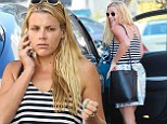 Natural beauty! Barefaced Busy Philipps leaves celeb-loved Beverly Hills dermatology office in summery casual outfit