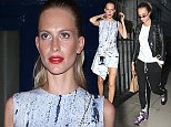 Mandatory Credit: Photo by Beretta/Sims/REX (4103784cx)\n Poppy Delevingne and James Cook\n Arrivals at Spring Summer 2015, London Fashion Week, London, Britain - 12 Sep 2014\n \n