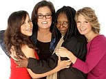'Here they are-- new ladies of @TheViewTV!' On Friday, fans were given the first official look at the new and improved line-up of ABC's The View, featuring Rosie Perez, Rosie O'Donnell, Whoopi Goldberg and Nicolle Wallace (from left)