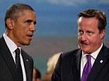Barack Obama and Prime Minister David Cameron