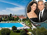 Mamma Mia, what a wedding, George! Stunning palazzo, gondoliers' guard of honour, Diana's luxurious hotel... Venetians predict a spectacular day