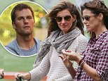Gisele Bundchen and Bridget Moynahan chat at son John's soccer match in NYC while his NFL father Tom Brady prepares for Sunday's game in Boston