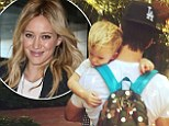 'Happy birthday Mikey! Have a great boys day': Hilary Duff sends her love to estranged husband Mike Comrie on his birthday as she jets home from Sydney