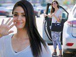 Emmy Rossum out and about on Friday