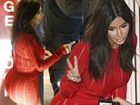 13 SEPTEMBER 2014 SYDNEY AUSTRALIA\nNON EXCLUSIVE\nKim Kardashian pictured arriving to the Sydney Entertainment Centre to watch her husband Kanye West perform his final Sydney concert