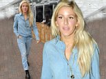 English singer Ellie Goulding arrives at Dublin Airport today wearing head-to-toe denim, and later goes shopping in town at Jack Wills boutique, which has 20% off sale on denim. Goulding is in Dublin to play a secret gig as part of the Guinness Amplify concert series, which has replaced the former Arthur's Day concerts.\nFeaturing: Ellie Goulding\nWhere: Dublin, Ireland\nWhen: 13 Sep 2014\nCredit: WENN.com\n**Not available for publication in Irish Tabloids, Irish magazines.**