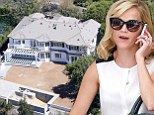 Welcome home! Reese Witherspoon visits her new and still under construction $12.7 million Pacific Palisades mansion
