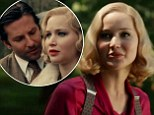 Bradley Cooper and Jennifer Lawrence sizzle on screen in the newly released trailer for their upcoming drama Serena