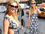 Paris Hilton stuns in tight cut-out dress in New York... as it is alleged her family is involved in Costa Rican drug bust