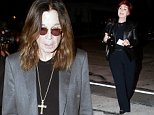 September 12, 2014: Ozzy and Sharon Osbourne (not pictured) head to dinner in West Hollywood, CA.\nMandatory Credit: Fresh/INFphoto.com Ref: infusla-284 \n