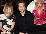 Bradley Cooper causes a stir at Tom Ford LFW show... after missing girlfriend Suki Waterhouse walking for Burberry