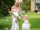 'I am madly I love with this moment!' Jessica Simpson shares adorable snap with mini-me daughter from sister Ashlee's wedding
