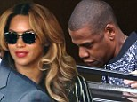 More Bang Bang? Beyonce and Jay Z slip out of a recording studio in Paris... after releasing first instalment of music video trilogy